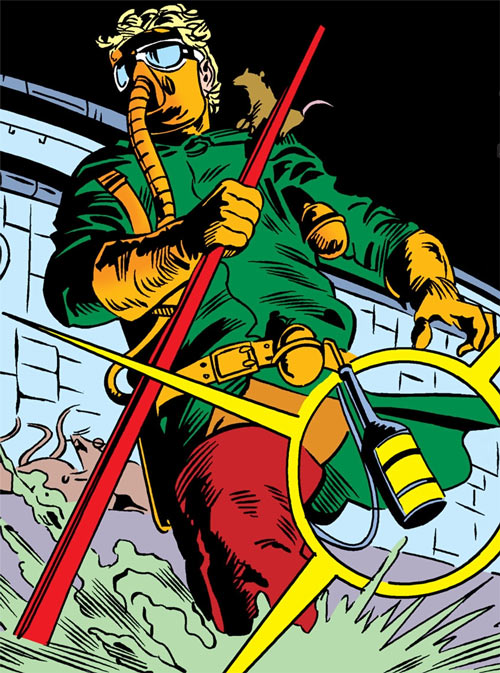 Ratcatcher (Batman & Robin enemy) (DC Comics) in the sewers