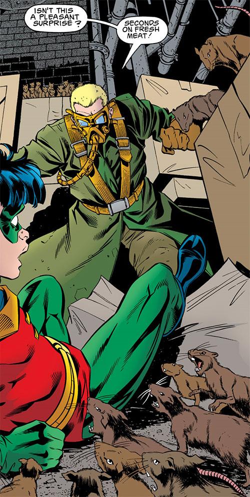 Ratcatcher (Batman & Robin enemy) (DC Comics) vs. Robin