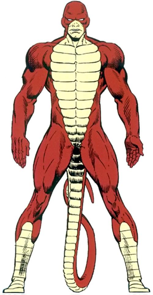 The Rattler (Serpent Society) (Marvel Comics)