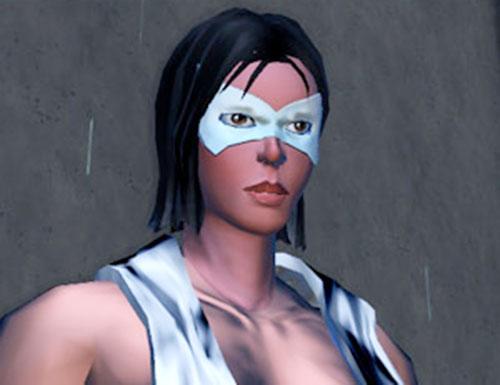 Rava (DC Heroes RPG) closeup