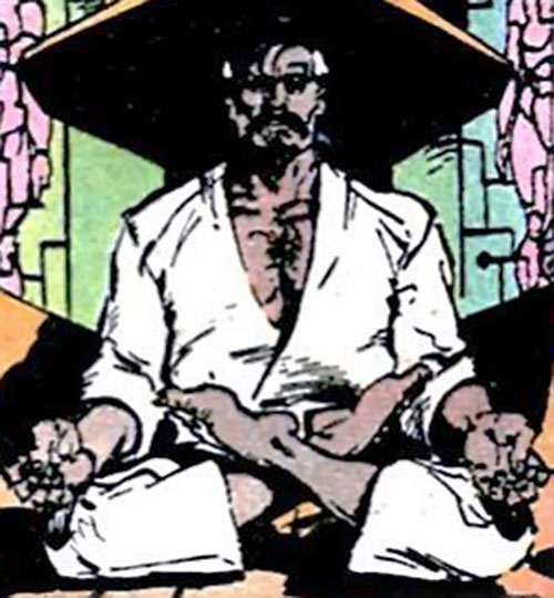 Ravan of the Suicide Squad (DC Comics) meditating