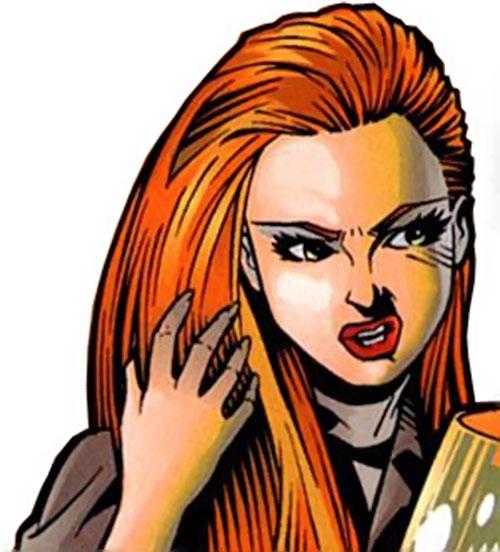 Razer (Image Comics) face closeup