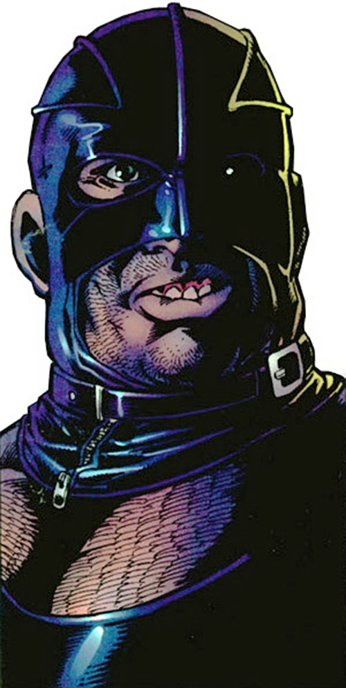 Razor-Fist II (Marvel Comics) face closeup