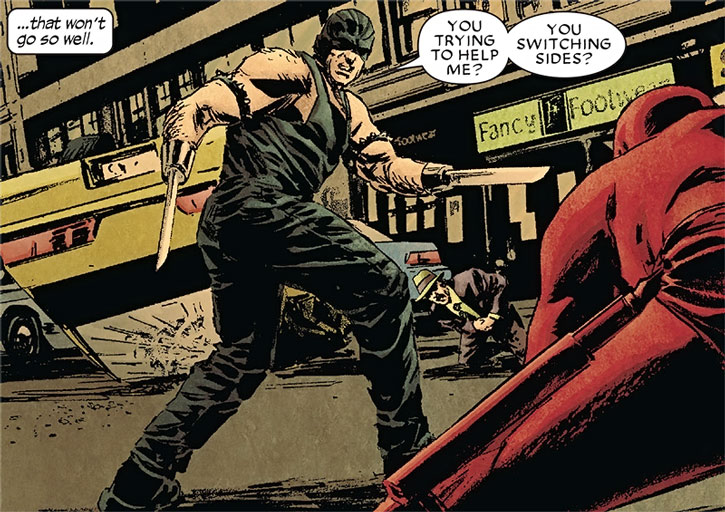 Razor-Fist vs. Daredevil