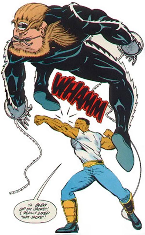 Razorwire (Spider-Man . Cage enemy) (Marvel Comics)