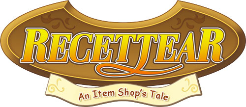 Recettear video game logo
