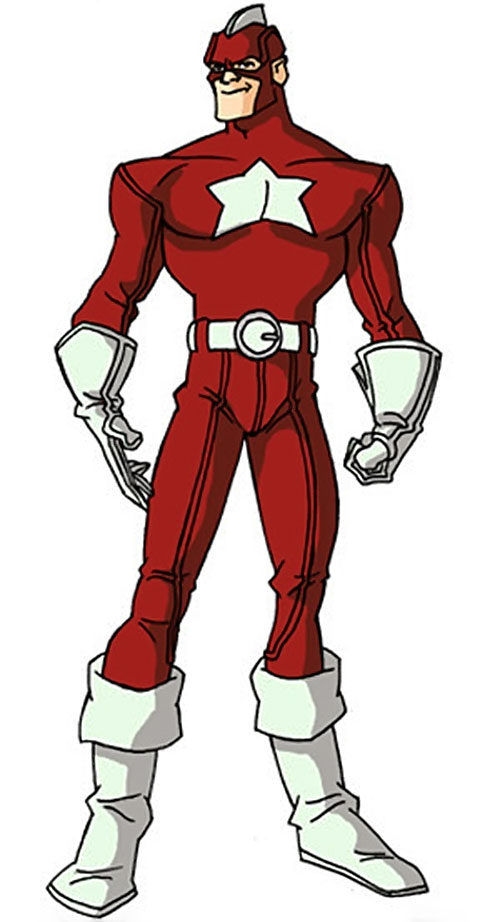 Red Guardian (Lebedev) (Marvel Comics) by RonnieThunderbolts 2/2