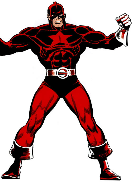 Red Guardian (Shostakov) (Black Widow enemy) (Marvel Comics)