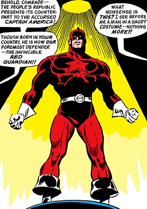 Red Guardian (Shostakov) (Black Widow enemy) (Marvel Comics) in the spotlight