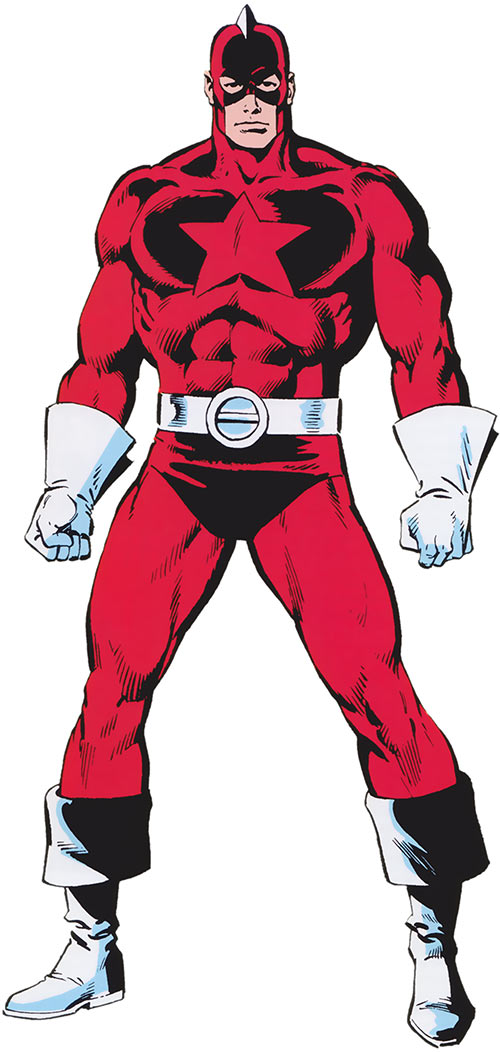 Red Guardian (Shostakov) (Black Widow enemy) (Marvel Comics) from the handbook