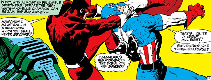 The Red Guardian (Marvel Comics) (Alexi Shostakov) vs. Captain America