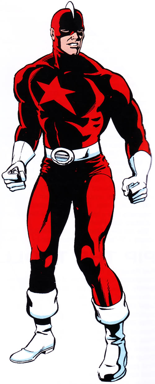 Red Guardian Shostakov (Marvel Comics 1983 handbook)