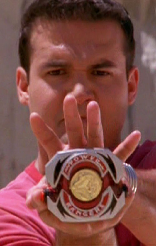 Red Ranger (Jason) of the Mighty Morphin Power Rangers - power sigil