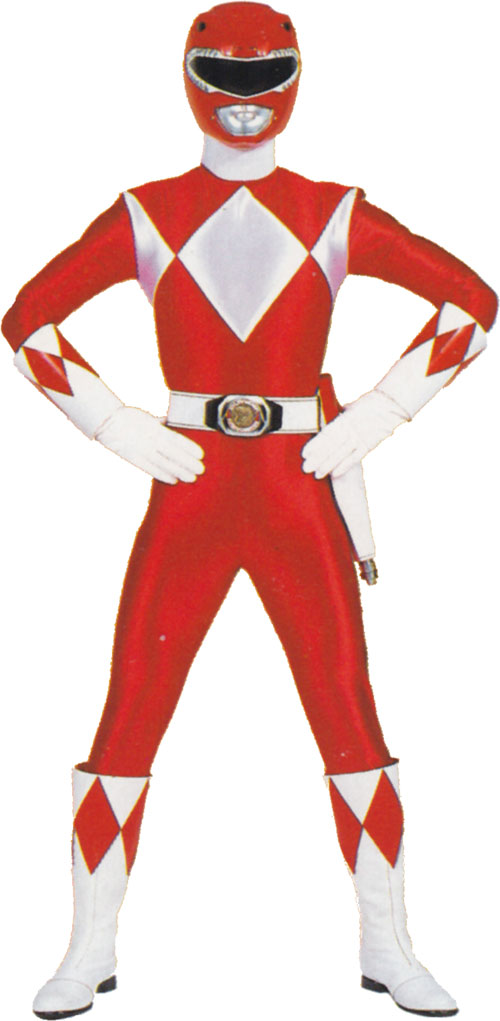 Red Ranger (Jason) of the Mighty Morphin Power Rangers