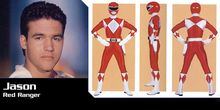 Red Ranger (Jason) of the Mighty Morphin Power Rangers - banner