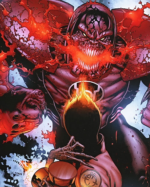 Atrocitus and Larfleeze