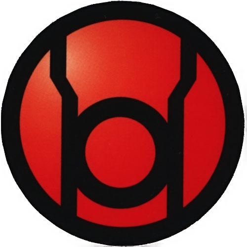 Red Lantern Corps logo
