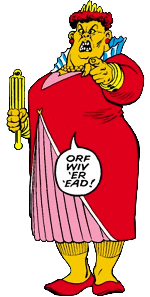 The Red Queen of the Crazy Gang (Excalibur enemy) (Marvel Comics)