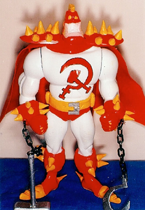 Red Scare (Tick enemy) action figure