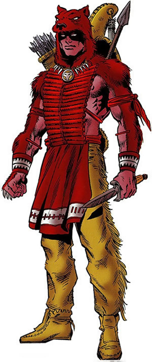 Red Wolf (Marvel Comics) later costume