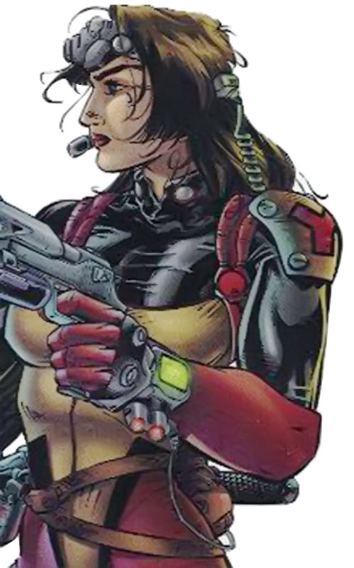 Redbird of Black Ops (Image Comics)