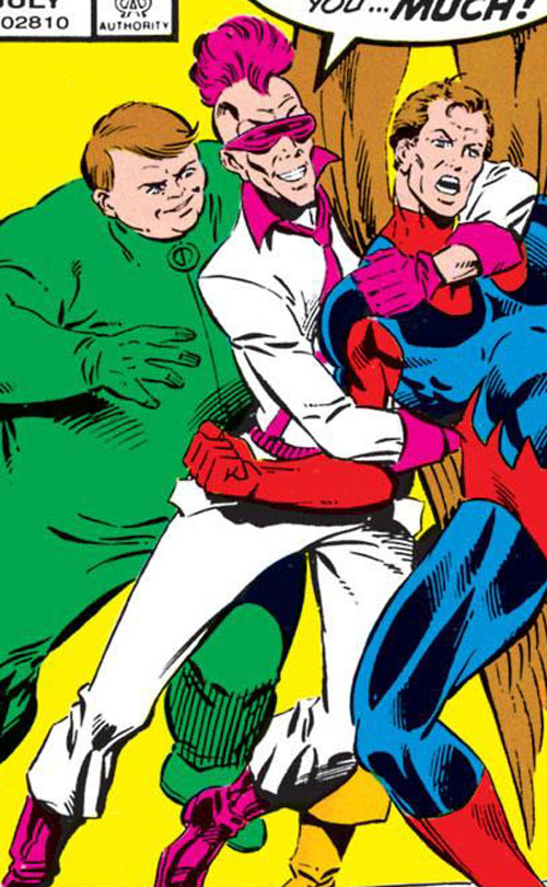 Remnant (Squadron Supreme enemy) (Marvel Comics) and Pinball vs. Blue Eagle