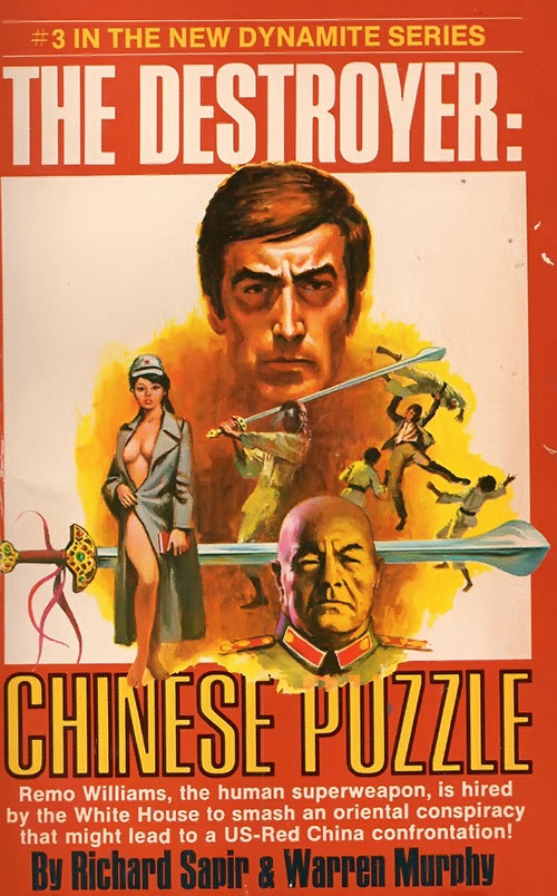 The Destroyer Chinese Puzzle novel cover