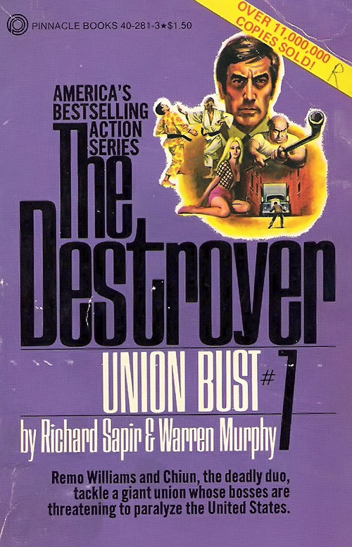 The Destroyer Union Bust novel cover