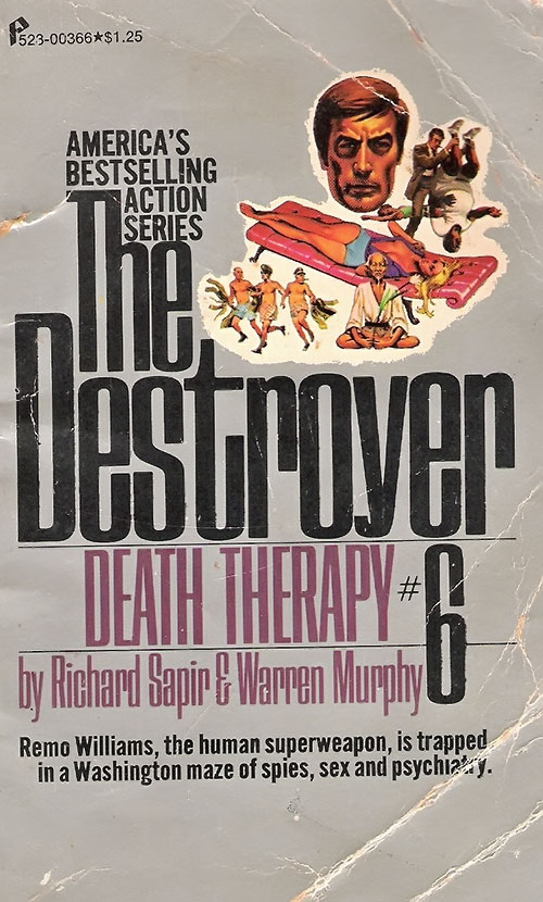 The Destroyer Death Therapy novel cover