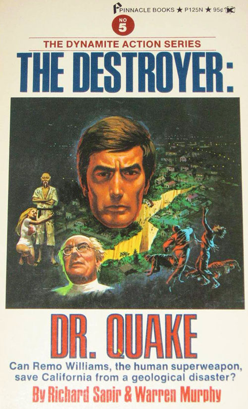 The Destroyer Dr. Quake novel cover