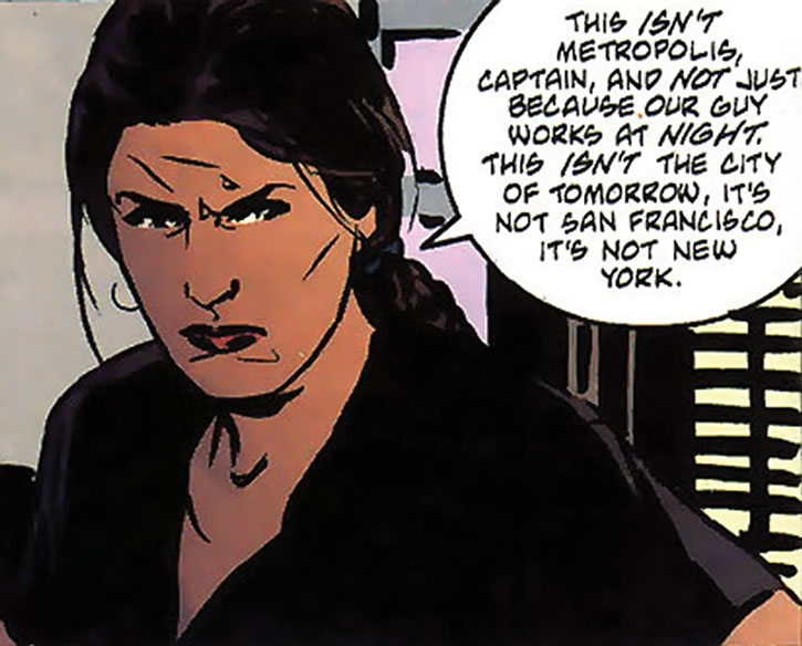 Renee Montoya talks about Gotham