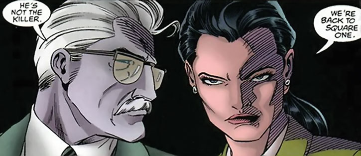Renee Montoya and Jim Gordon