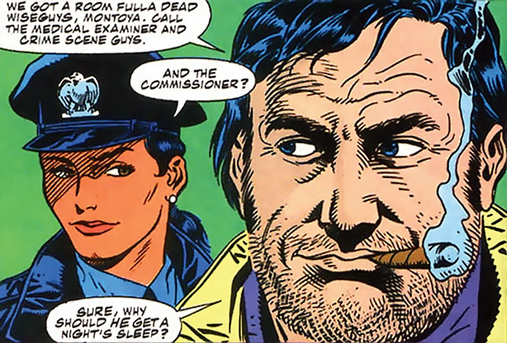 Renee Montoya and Harvey Bullock