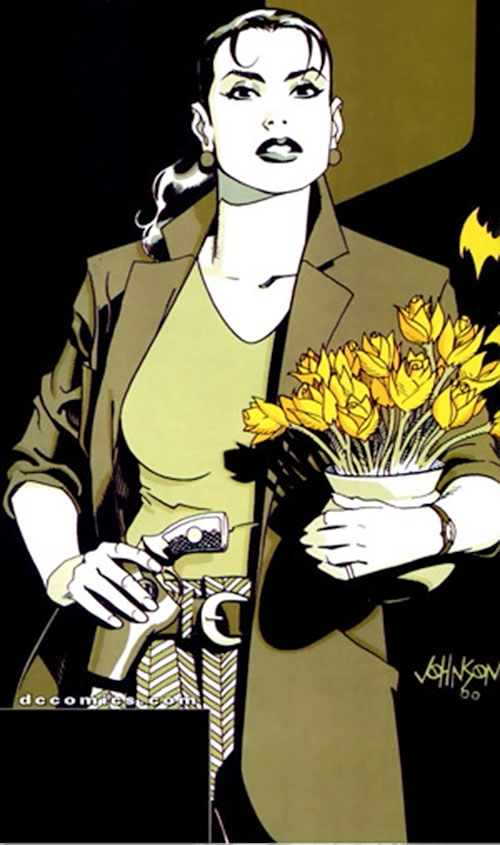 Renee Montoya (Batman ally) (DC Comics) during the early 2000s