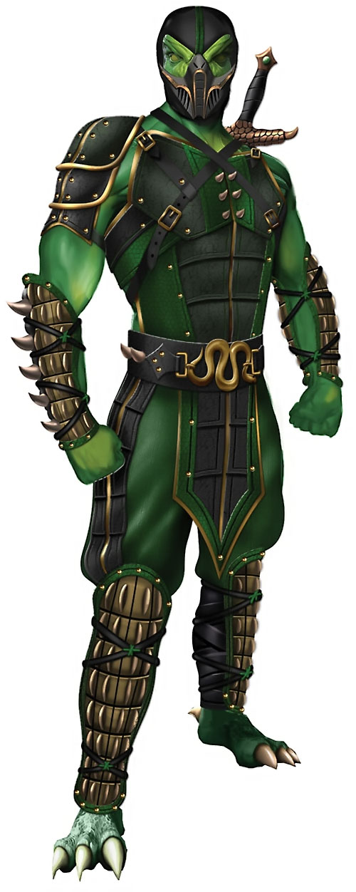Reptile from Mortal Kombat