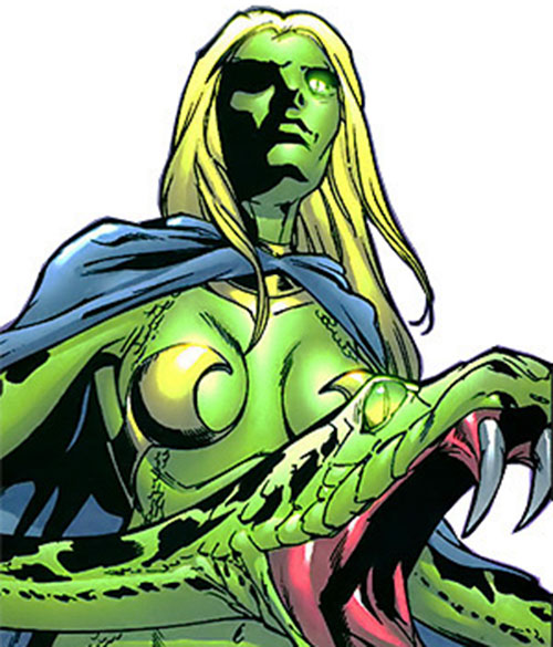 Reptilia of the Salem Seven (Marvel Comics) modern appearance