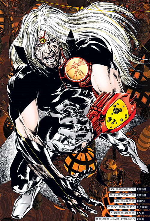 Resurrection Man (DC Comics) (One Million / 1M version)