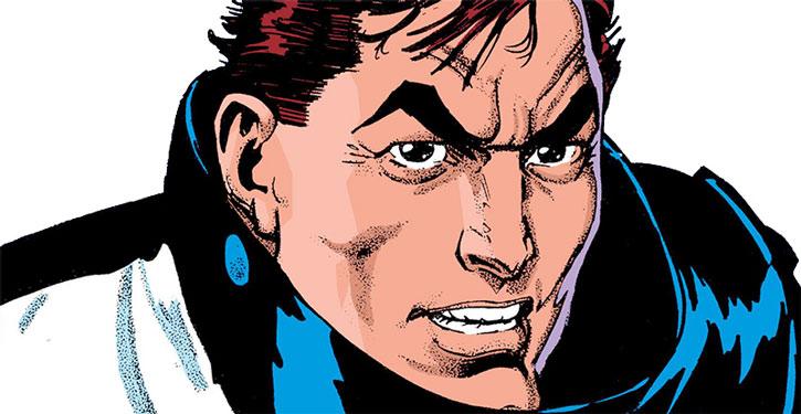 Reuben Flagg face closeup