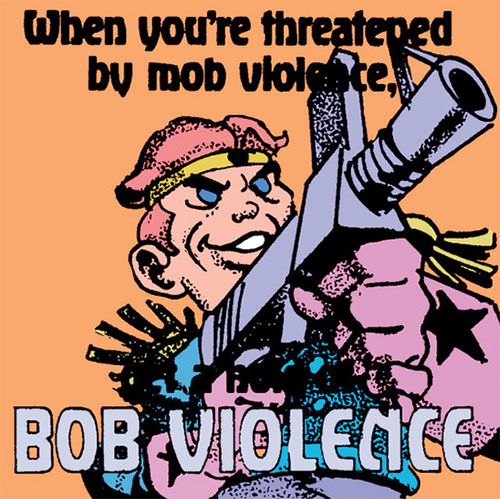 Bob Violence commercial (American Flagg)