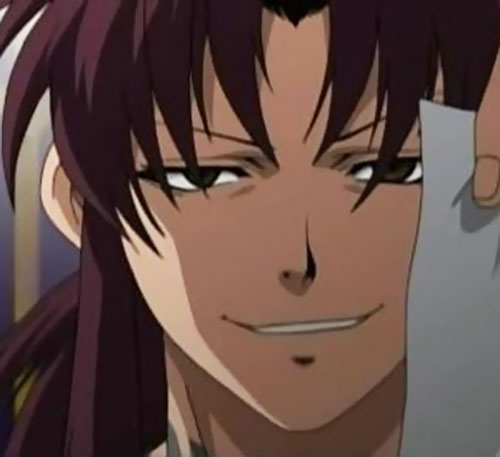 Revy of Black Lagoon face closeup