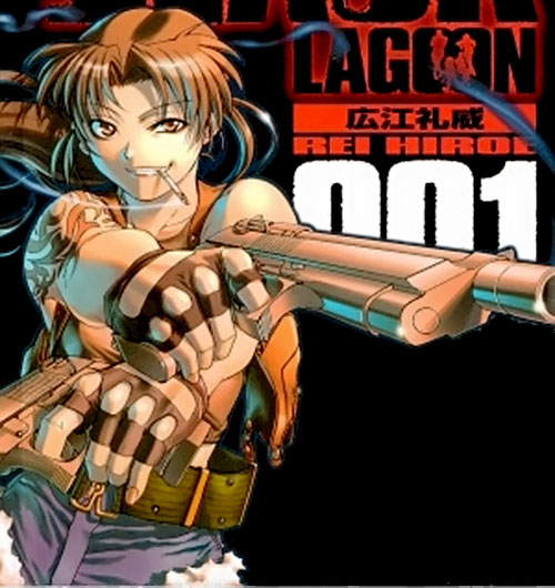 Revy of Black Lagoon cover art