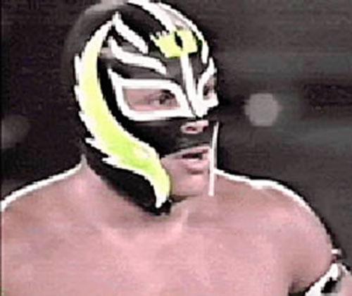 Rey Mysterio, Jr. closeup