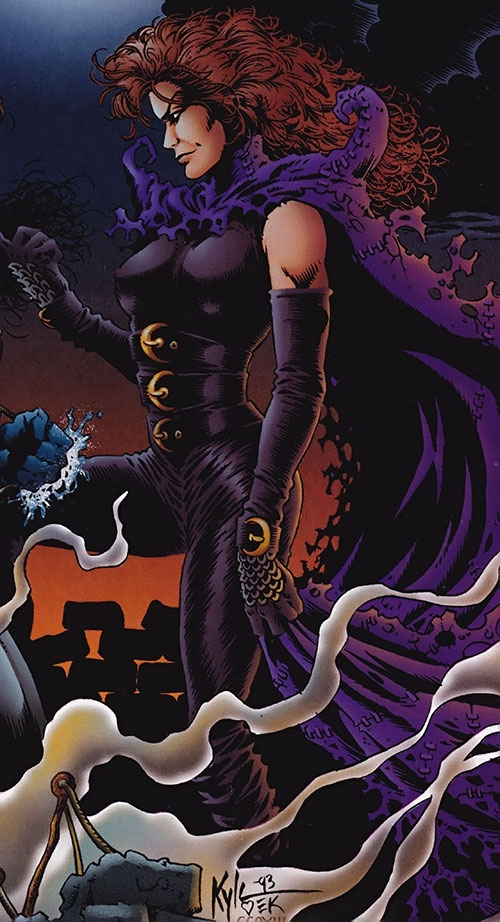 Rhiannon (Ultraverse Marvel comics) (Night Man character)