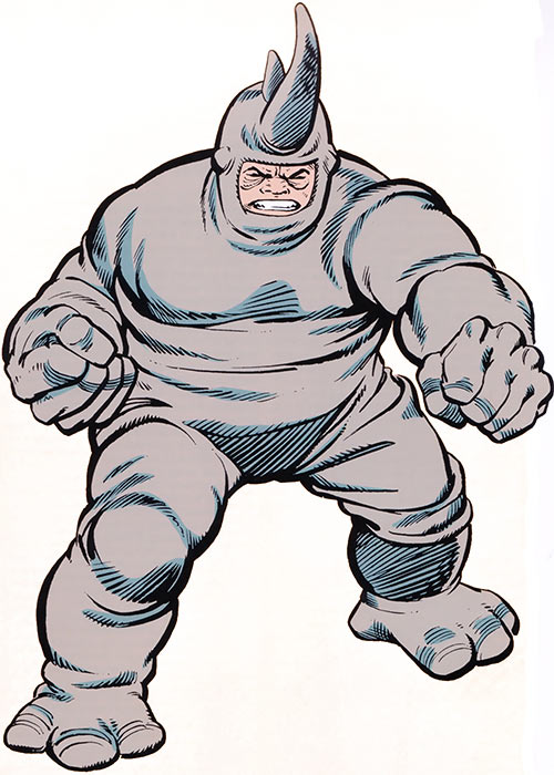 Rhino (Marvel Comics) from the old handbook