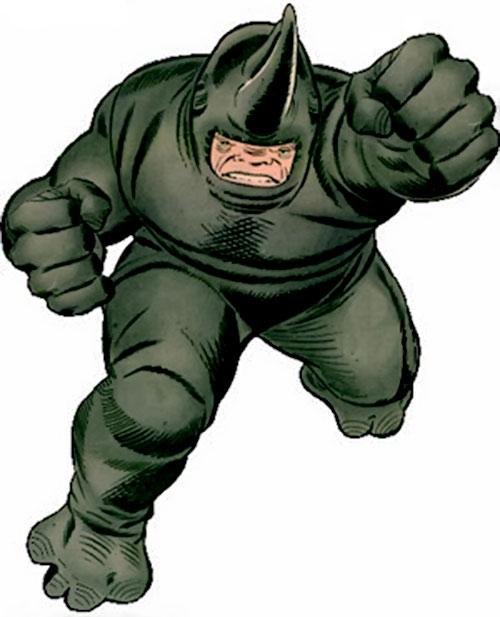 Rhino (Marvel Comics) vintage art