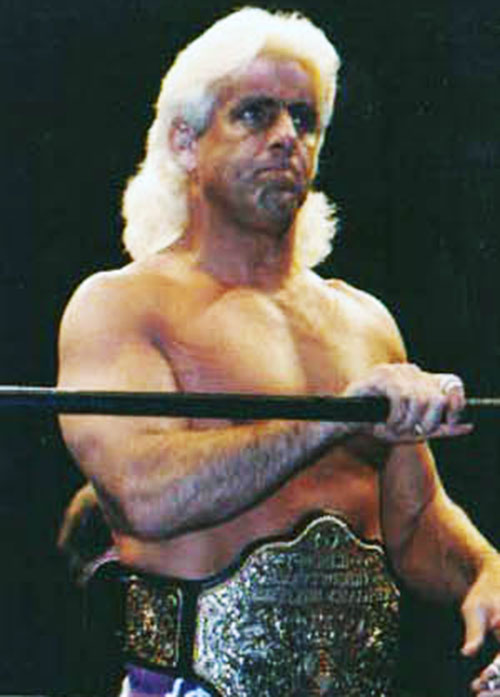 Ric Flair in the ring