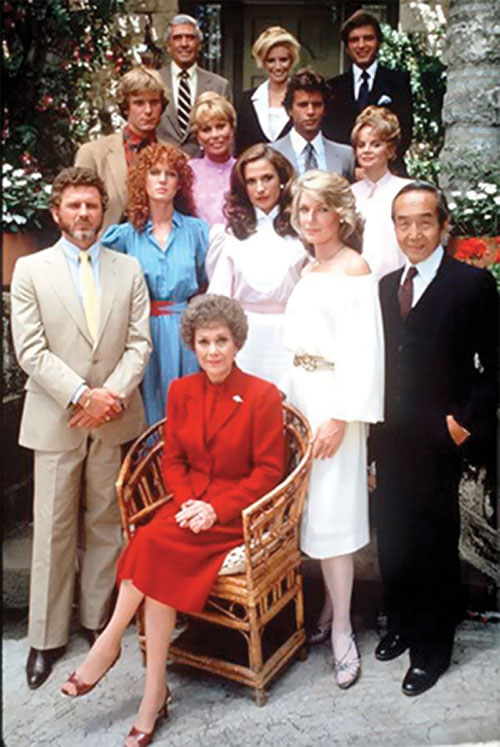 Falcon Crest TV series cast photo