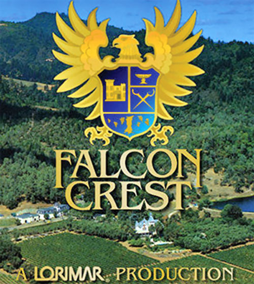 Falcon Crest TV series title screen