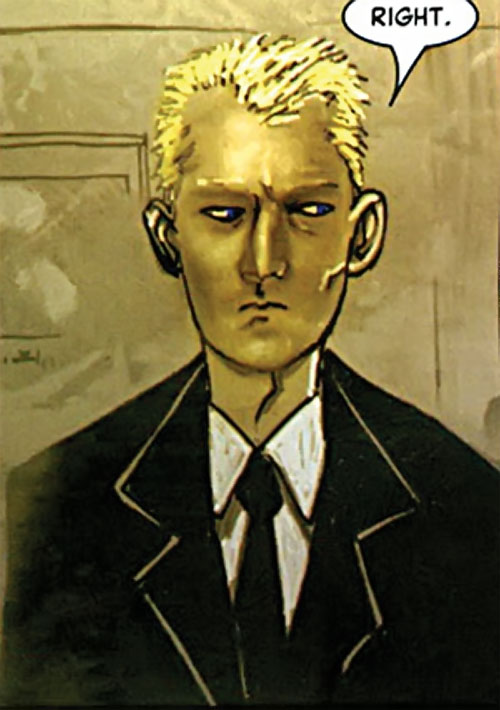 Detective Richard Fell (Warren Ellis Fell comics) looking dubious