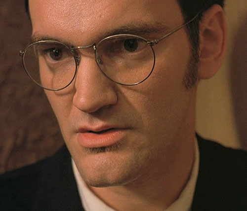Richard Gecko (Quentin Tarantino in From Dusk Till Dawn) closeup